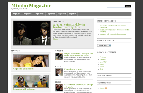 Mimbo Magazine Theme für WordPress