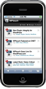 WPTouch - WordPress Smartphone tauglich machen - WordPress Plugin