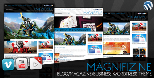 Magnifizine- Premium WordPress Business Magazine Theme