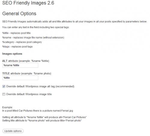 SEO Friendly Images - Suchmaschinenfreundliche Bilder mit WordPress Plugin
