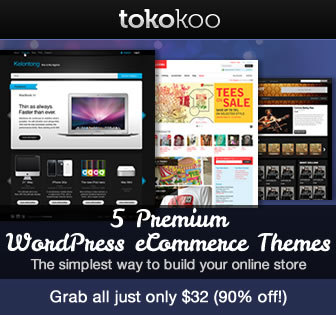 5 Premium WordPress eCommerce Themes Bundled from Tokokoo
