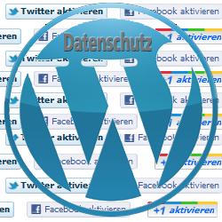 Social Media Datenschutz Plugins für WordPress