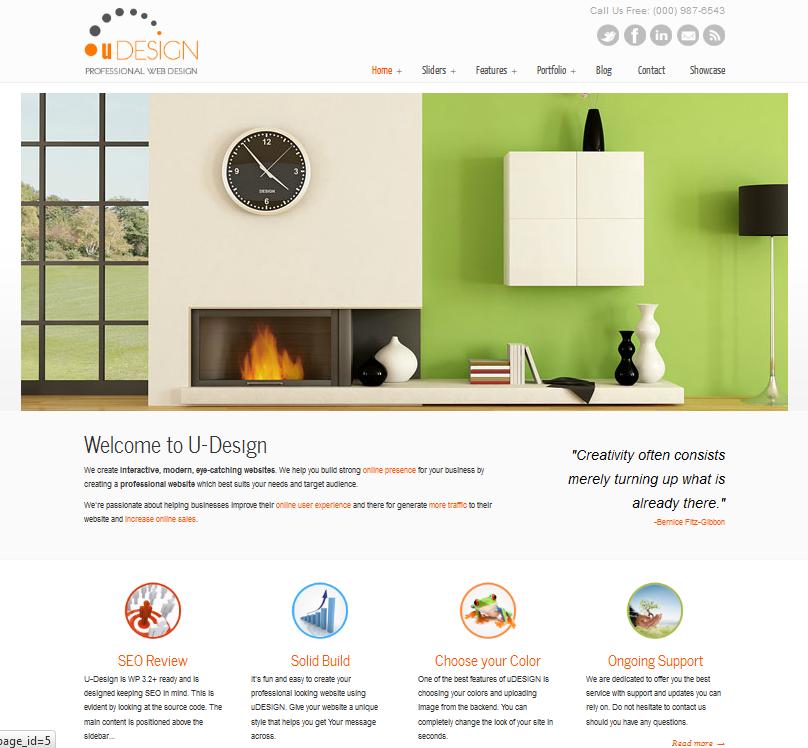 Best Premium Corporate Blog Theme for WordPress