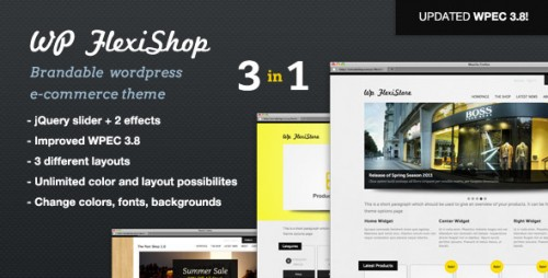 WP Flexishp Premium WordPress eCommerce Theme