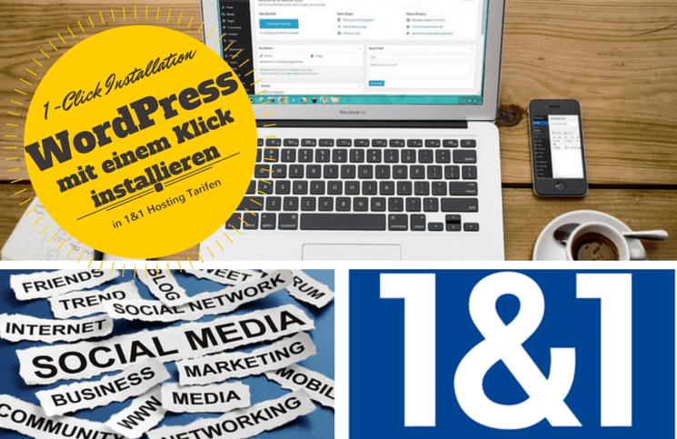 1&1 und WordPress: Wie man WordPress bei 1und1 mit einem Klick installiert