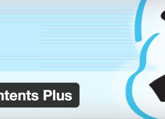 Table of Content Plus - Anchor Links - Inhaltsverzeichnis Inhaltsangabe WordPress Plugin