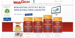 WebGo24 WordPress Webhosting Anbieter
