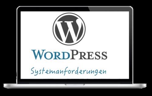 WordPress Systemanforderungen Webhosting Hosting Anbieter