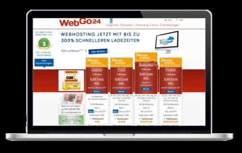 webgo24 WordPress Hosting Vergleich - Test WordPress Hoster WebGo24