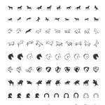 Vorschau 100 gratis Pferde Icons