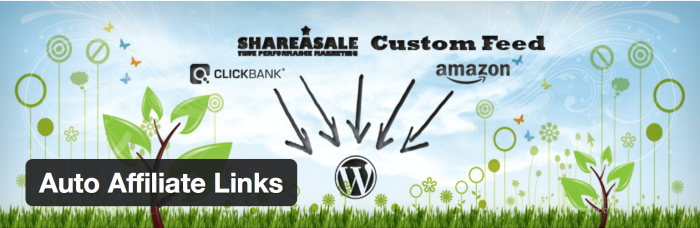 WordPress Affiliate Plugin Auto Affiliate Links