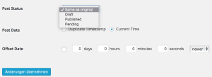 WordPress Post Duplicator - Artikel und Seiten mit WordPress Plugin kopieren