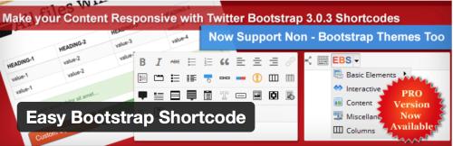 WordPress Shortcode Plugins - Easy Bootstrap Shortcode