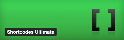 WordPress Shortcode Plugins - Shortcode Ultimate