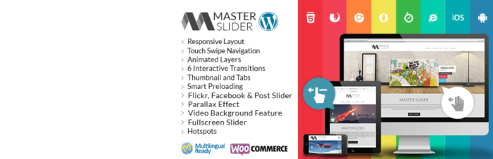 WordPress Slider Plugins - Master Slider - WordPress Plugin