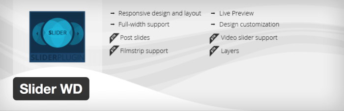 WordPress Slider Plugins - Slider WD