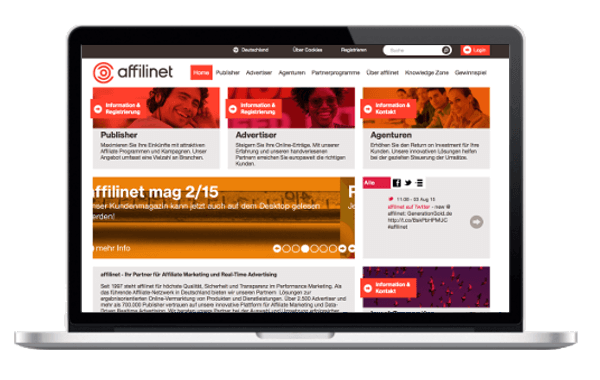 wp-magazine Affili net Affiliate Marketing Netzwerk - Geld verdienen mit Affilinet