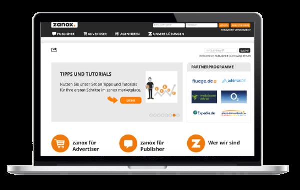 wp-magazine Zanox Affiliate Marketing Netzwerk - Geld verdienen mit Zanox