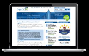 wp-magazine superclix affiliate netzwerk - Geld verdienen mit superclix