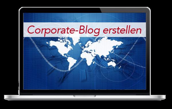 Corporate-Blog - Unternehmens-Blog - Internetseite - erstellen