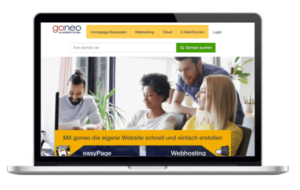 Goneo.de Webhosting - WordPress Hosting Goneo Test Vergleich