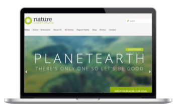 Landschaftsbau - Garten und Kleingarten Theme für WordPress - Nature Responsive WordPress Theme