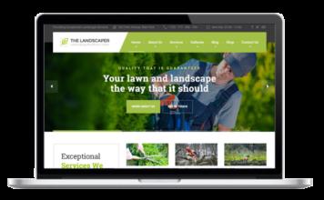 Landschaftsbau - Garten und Kleingarten Theme für WordPress - The Landscaper - Lawn & Landscaping WP Theme