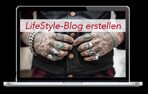 LifeStyle - Blog - Internetseite - erstellen