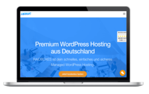 Raidboxes.de WordPress Hosting - Blog Hosting