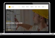 Renew Theme - WordPress Theme für Bauherren Architekten Handwerker und Bauunternehmen