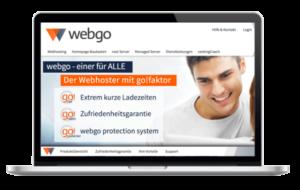 webgo.de - Hosting Erfahrungen - Test Vergleich WordPress Hosting