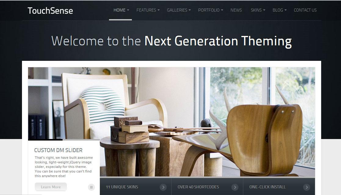 TouchSense Premium Wordpress Theme