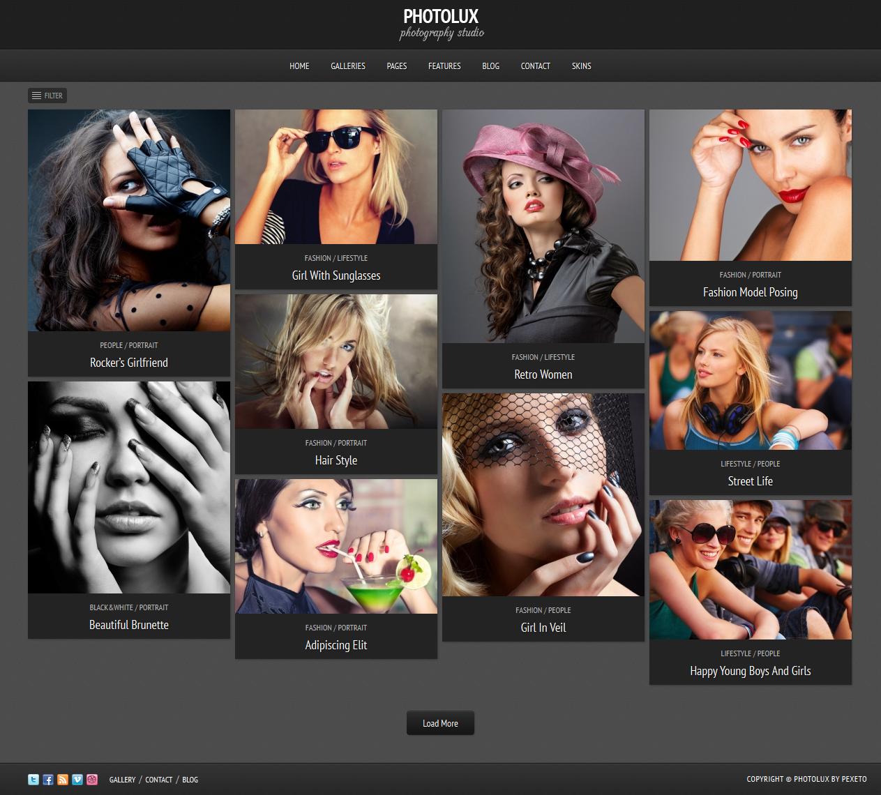 photolux - Premium Photo Theme - Foto Blog WordPress