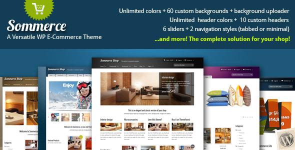 Summerce Versatile Premium eCommerce WordPress Theme