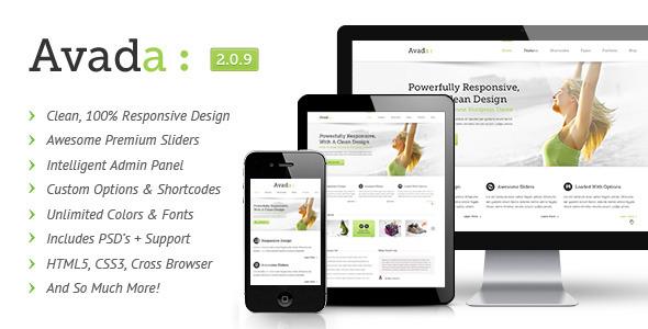 Premium WordPress Theme Avada