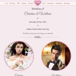 Hochzeitswebsite - WordPress Theme Hochzeit Internetseite für Hochzeit