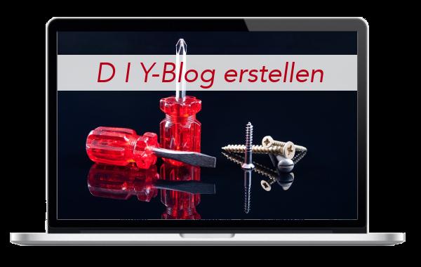 DIY - Do it Yourself - Blog - Internetseite - erstellen