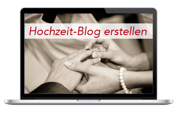Hochzeitsblog - Hochzeit - Heirat - Blog - Internetseite - erstellen