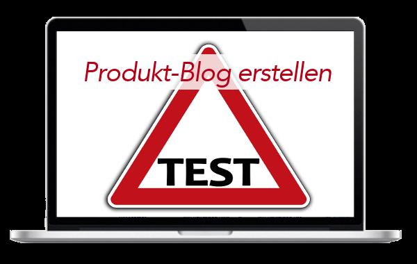 Produkt- Produkt-Tester -Produkt-Test - -Blog - Internetseite - erstellen