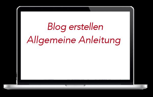 WordPress Blog erstellen - allgemeine Anleitung