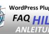 WordPress Plugins FAQ